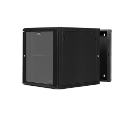 12U Swing-out Wall Mount Cabinet 22in deep - Flat Pack
