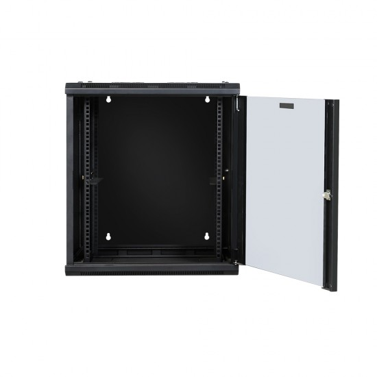 12U Swing-out Wall Mount Cabinet 26in deep - Flat Pack