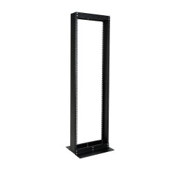 2 Post Aluminum Open Frame Rack - Tap 38U/45U