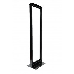 2-post Open Frame Rack Aluminum Alloy - Tap 38U/45U