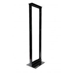 2-post Open Frame Rack Aluminum Alloy - Tap 38U/45U