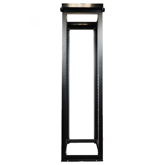 4 Post steel Open Frame Rack - (45U/38U, Sqare/Tap)