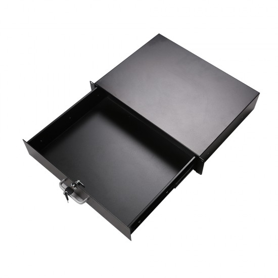 Lockable Rack Mount Drawer 2U