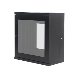 Wall Mount Glass Door Cabinet 12U630