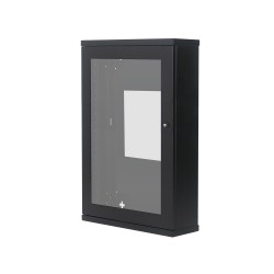 Wall Mount Glass Door Cabinet 18U620