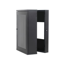 Wall Mount Cabinet 18U630 Swing Slim Full Welded Heavy Duty