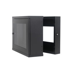 Wall Mount Cabinet 9U630 Swing Slim Full Welded Heavy Duty
