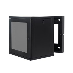Wall Mount Cabinet 12U655 Swing Fully Built - Heavy Duty