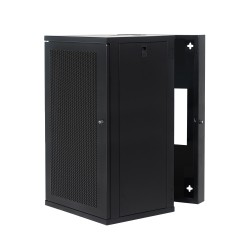 Wall Mount Cabinet 18U655 Swing Fully Built - Heavy Duty
