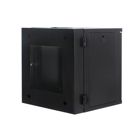 Wall Mount Cabinet 9U655 Swing Fully Built - Heavy Duty