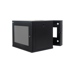 Wall Mount Cabinet 9U655 Swing Fully Built - Heavy Duty