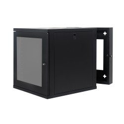 Wall Mount Cabinet 12U675 Swing Fully Built - Heavy Duty