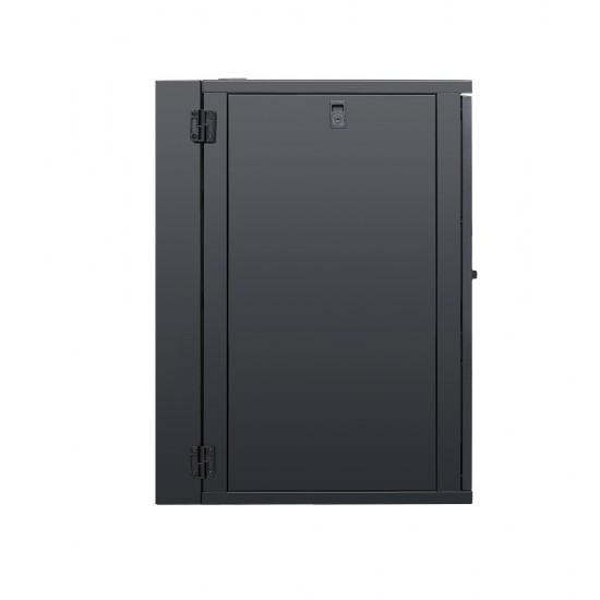 Wall Mount Cabinet 18U675 Swing Fully Built - Heavy Duty