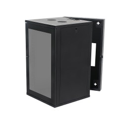 Wall Mount Cabinet 18U675 Swing Fully Built - Heavy Duty