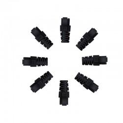 RJ45 Sheath Black 100 Pack