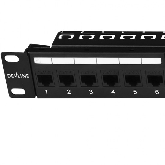 Cat 6 UTP 24-Port Patch Panel