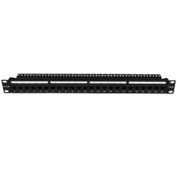 Cat 6A UTP 24-Port Patch Panel