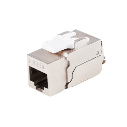Cat5e Shielded Module Silver