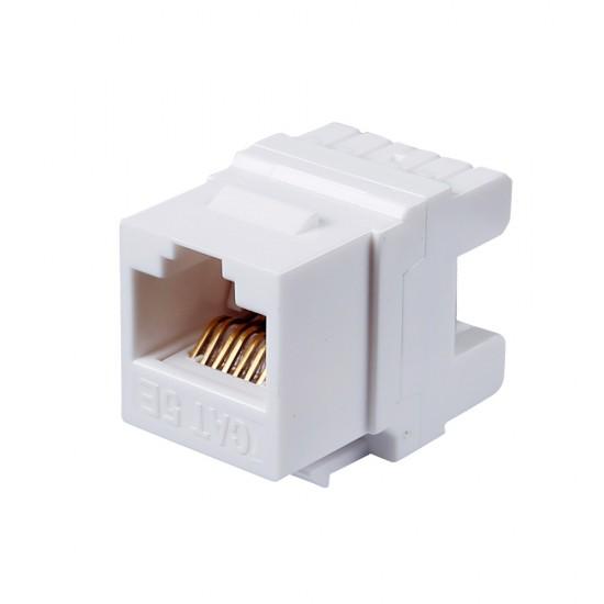 Cat5e Unshielded Module White