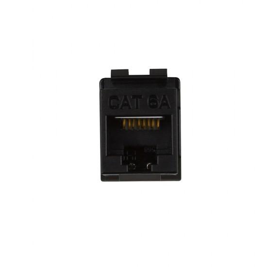 Cat6A Unshielded Module Black