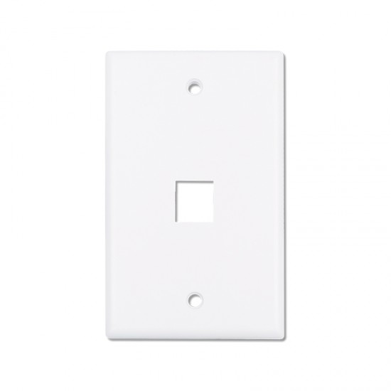 keystone Wall Plate - white